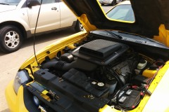2004 Mustang Engine Bay View