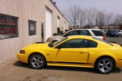 2004 Mustang Driver Side View